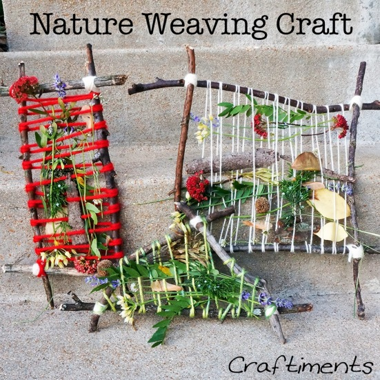 nature weaving craft