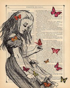 9e2ef5b1ebec0a883b3a861327bf14e3--alice-in-wonderland-artwork-book-page-art